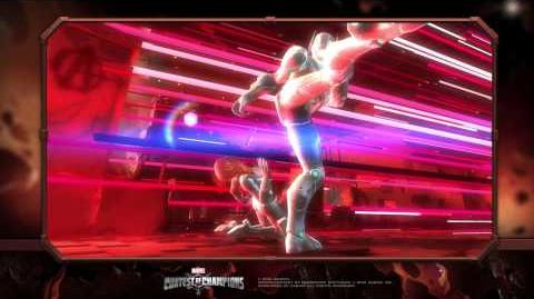 Black Widow Special Moves Marvel Contest of Champions