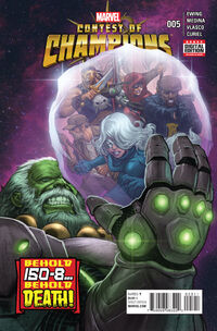 Contest of Champions 5 cover