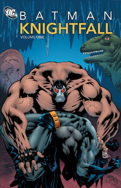 Cover for the Batman: Knightfall Volume One Trade Paperback