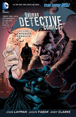Cover for the Detective Comics: Emperor Penguin Trade Paperback