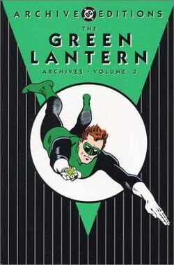 Cover for the The Green Lantern Archives Vol. 3 Trade Paperback