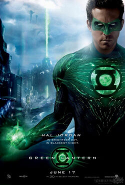 Green Lantern Movie Hal Jordan poster