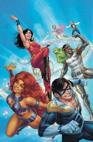 File:Convergence New Teen Titans Vol 1 1 Textless.jpg