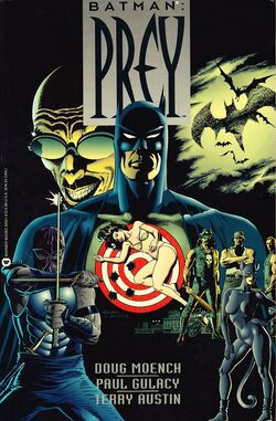 Cover for the Batman: Prey Trade Paperback