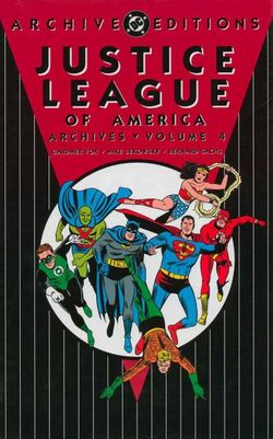 Cover for the Justice League of America Archives Vol 4 Trade Paperback