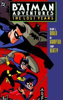 Cover for the Batman Adventures: The Lost Years Trade Paperback