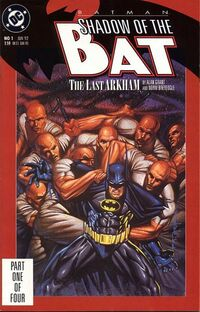 Batman Shadow of the Bat Vol 1 1