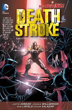 Cover for the Deathstroke: Lobo Hunt Trade Paperback