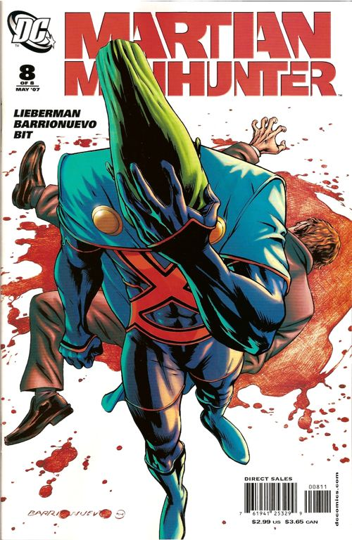 Martian Manhunter Vol 3 8 | DC Database | FANDOM powered by Wikia
