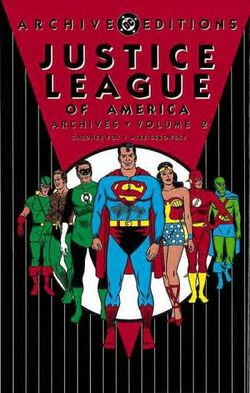 Cover for the Justice League of America Archives Vol 2 Trade Paperback