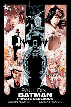 Cover for the Batman: Private Casebook Trade Paperback