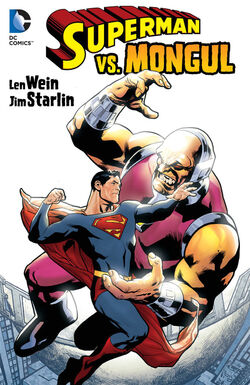 Cover for the Superman Vs. Mongul Trade Paperback