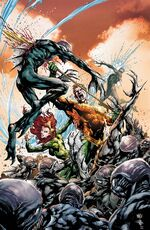 Aquaman and Mera vs. the Trench