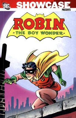 Cover for the Showcase Presents: Robin, the Boy Wonder Vol. 1 Trade Paperback