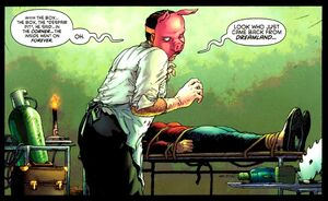 Professor Pyg is an accomplished surgeon and this is not a good thing.
