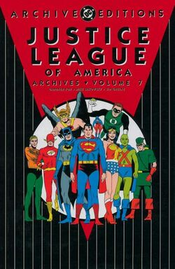Cover for the Justice League of America Archives Vol 7 Trade Paperback