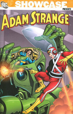 Cover for the Showcase Presents: Adam Strange Vol. 1 Trade Paperback