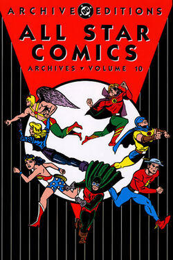 Cover for the All-Star Comics Archives Vol. 10 Trade Paperback