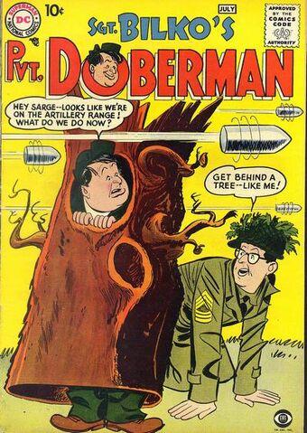 File:Sergeant Bilko's Private Doberman Vol 1 1.jpg
