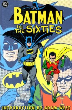Cover for the Batman in the Sixties Trade Paperback