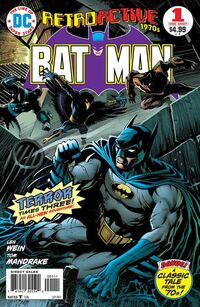 DC Retroactive Batman-The '70s Vol 1 1