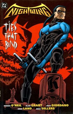 Cover for the Nightwing: Ties That Bind Trade Paperback