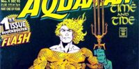 Aquaman: Time and Tide/Covers