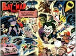 Batman and his characters by Dick Sprang