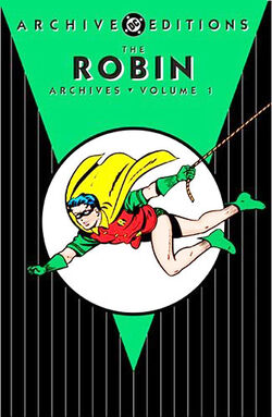 Cover for the Robin Archives Vol 1 Trade Paperback