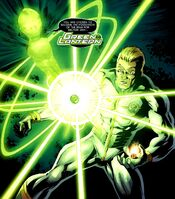 Earth-Man Green Lantern 001