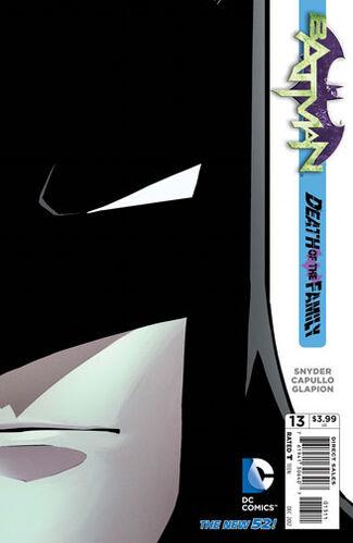 Batman Die-Cut Cover