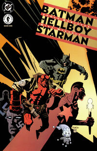 Batman and Hellboy and Starman 1