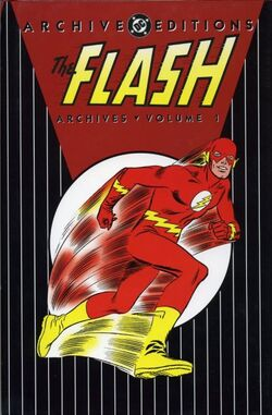 Cover for the The Flash Archives Vol. 1 Trade Paperback