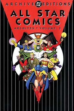 Cover for the All-Star Comics Archives Vol. 3 Trade Paperback