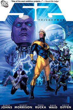 Cover for the 52 Vol. 4 Trade Paperback