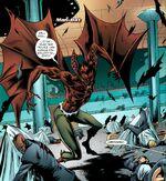 Man-Bat attacks Intergang