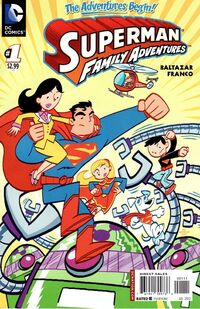 Superman Family Adventures Vol 1 1