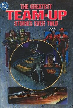 Cover for the Greatest Team-Up Stories Ever Told Trade Paperback