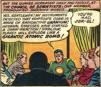 Kryptonian Science Council 001