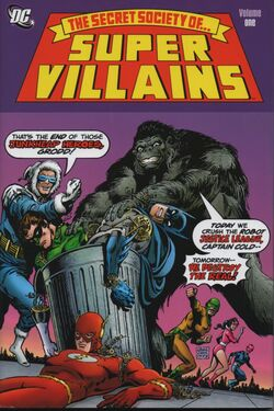 Cover for the Secret Society of Super-Villains, Volume One Trade Paperback