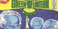Tales of the Green Lantern Corps/Covers