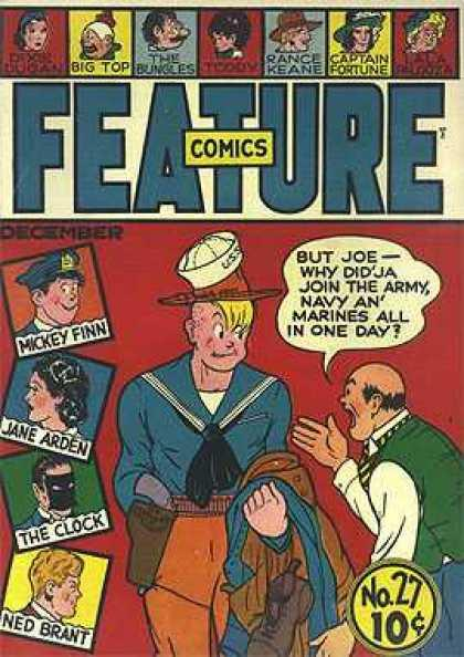 Image result for feature comics 27