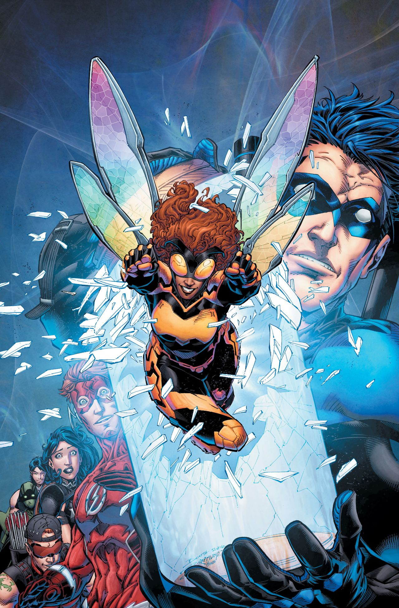Image titans vol 3 9 textless jpg dc database fandom powered by wikia