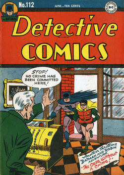 Detective Comics 112