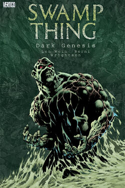 Cover for the Swamp Thing: Dark Genesis Trade Paperback
