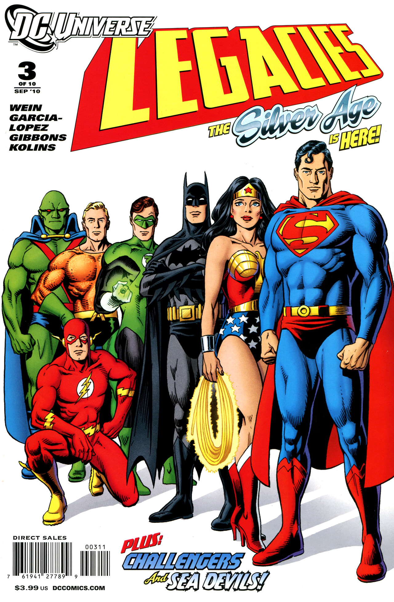 DC Universe Legacies Vol 1 3 | DC Database | FANDOM ...