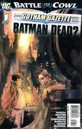 Gotham Gazette Batman Dead