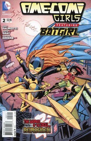 File:Ame-Comi Girls Featuring Batgirl Vol 1 2.jpg