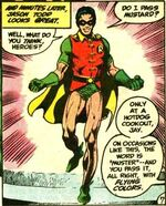 Jason officially becomes Robin