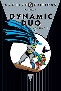 Cover for the Batman: The Dynamic Duo Archives Vol 2 Trade Paperback